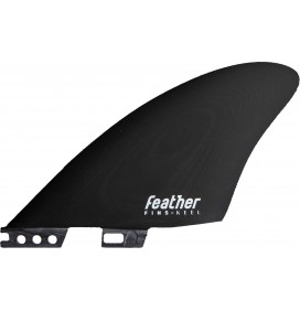 Ailerons de surf Feather Fins Twin Click Tab