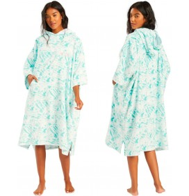 Poncho Billabong Womens Island Blue