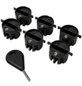 Set of 6 Eurofin Plugs