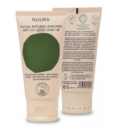 Nuura SPF50 sunscreen