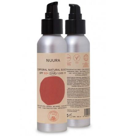 Spray de protetor solar Nuura SPF50