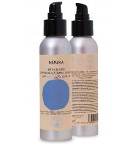 Spray zonnebrandcrème Nuura SPF50 Baby & Kids