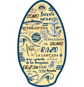 Tabla de skimboard Slidz Wood 41'' Spain