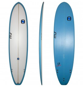 Surfboard mini malibu MS Fat Elephant 7'2 (AUF LAGER)