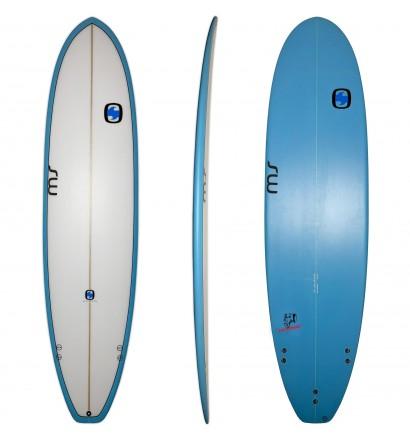 Surfplank mini malibu MS Vette Olifant 7'2 (OP VOORRAAD)