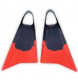 Palmes de bodyboard Pride Vulcan V2 Bleu Grey/Red