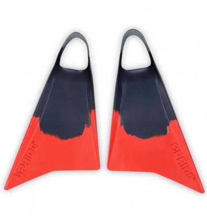 Pride Vulcan V2 Midnight Grey/Red Fins