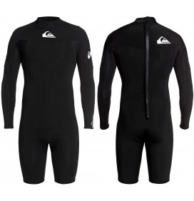 Fato Shorty quiksilver Syncro series 2mm LS