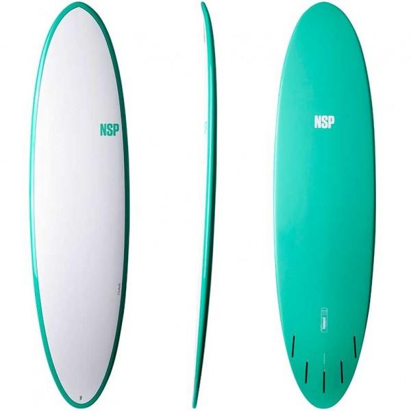 Imagén: Prancha surf NSP funboard Elements