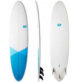 Surfbrett evolutionäre NSP funboard E+ Epoxy