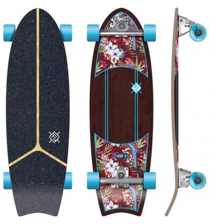 surfskate Flying Wheels Kauai Parrot 31''