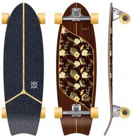 Surfskate Flying Wheels Moorea Plumeria 31''