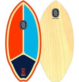 Prancha de skimboard Skim1 Fiberwood 44''