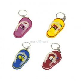 Schlüsselanhänger flip-flops