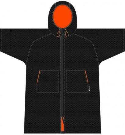 Poncho toalla Madness Black Speckle