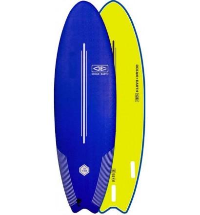 Planche de surf softboard Ocean & Earth EZI-Rider Fish