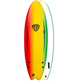 Planche de surf softboard Ocean & Earth MR Spray Ezi-Rider Twin Fin