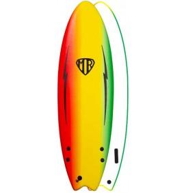 Tavola da surf softboard Ocean & Earth MR Spray Ezi-Rider Twin Fin