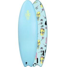 Prancha de surf softboard Ocean & Earth Brains EZI-Rider Fish