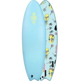 Surfbrett softboard Ocean & Earth Brains EZI-Rider Fish