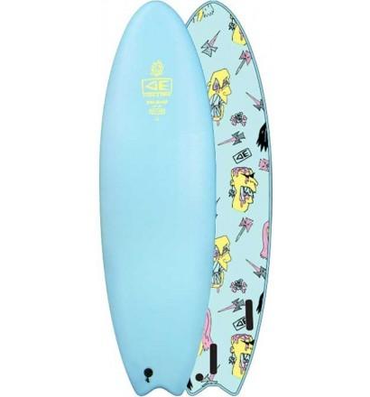 Surfbrett softboard Ocean & Earth Brains EZI-Rider Fish