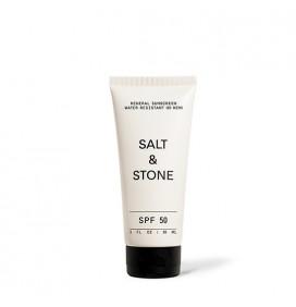 Loción de protección solar mineral natural Salt&Stone SPF50