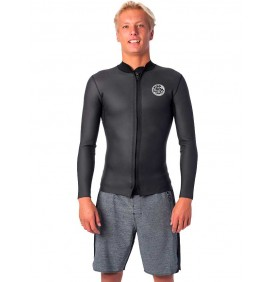 Top nóprène Rip Curl Dawn Patrol Front Zip Jacket 1,5mm