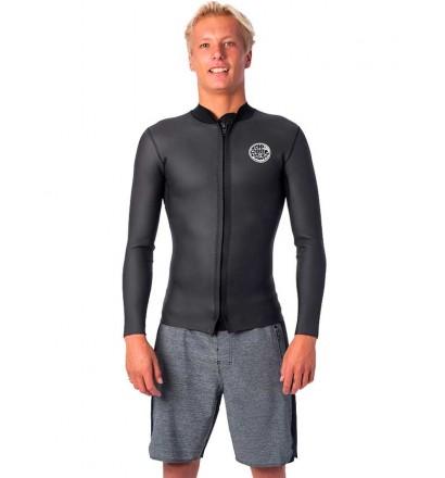 Top muta surf Rip Curl Dawn Patrol Front Zip Jacket 1,5mm