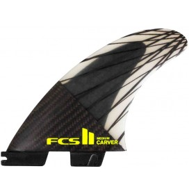 Ailerons de surf FCS II Carver PC Carbon