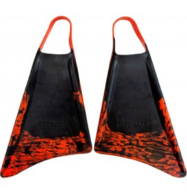Aletas de bodyboard Stealth S1 Black/Orange