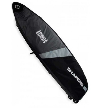 Boardbag aus surf Shapers Triple Wheelie