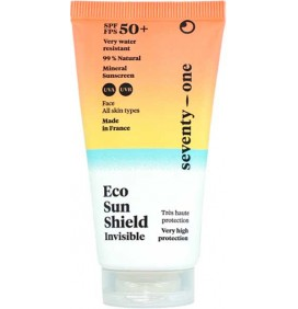 Sun cream eco sun shield SPF50 eenenzeventig Procent