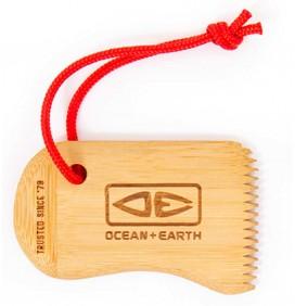 Raschietto di paraffina di Ocean & Earth Bamboo Wax Comb