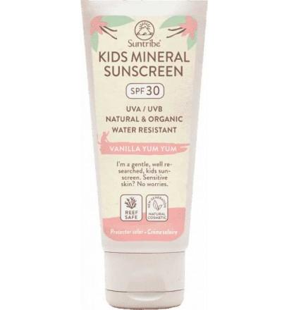 Creme solar Suntribe Kids para corpo e rosto com FPS30