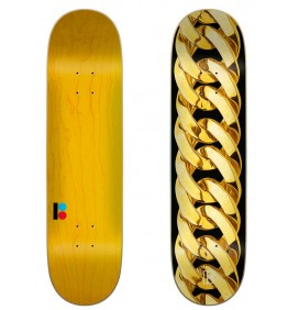 Skateboard Plan B Chain Gold 8.25″
