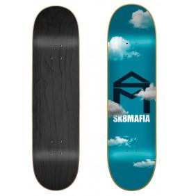 Skateboard Sk8mafia House Logo Clouds 8.0″