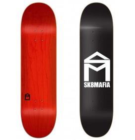 Skateboard Sk8mafia House Logo Black 8″