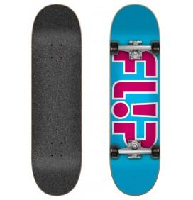 complete Skateboard Flip Outlined Light Blue 7.25″