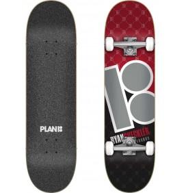 Skateboard Plan B Sheckler Corner 8.0″ Complete