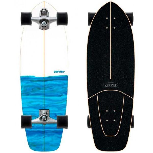 Imagén: Prancha de surfskate Carver Resin 31