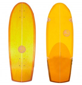 Prancha de surfskate Slide Quad Sunset 30''