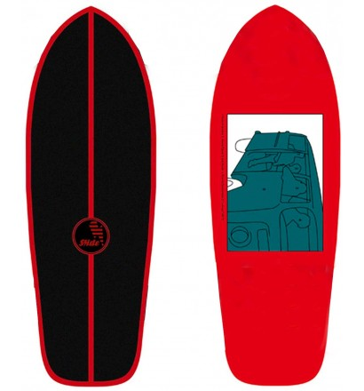 Tabla de surfskate Slide Joyful SK Heritage 30''