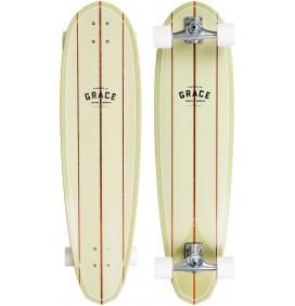 "Tabla de surfskate Quiksilver ONE BAD EGG 35"""