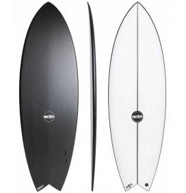 Planche de surf JS Industries Black Baron PU Carbon Fusion
