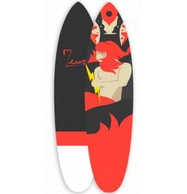 Tavola da surf Zeus Rosa 7'6 EVA