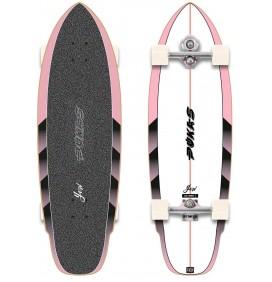 Tabla de surfskate Yow Dark 34,5'' x Pukas