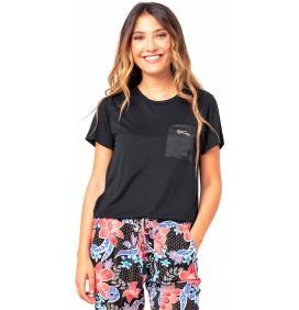 T-Shirt Rip Curl Pretty Pocket