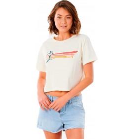 T-Shirt Rip Curl Golden State Crop tee