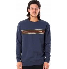 Sweatshirt Rip Curl Surf Revival Stripe Crew