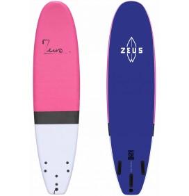 Prancha de Surf Zeus Rosa 7'6 EVA
